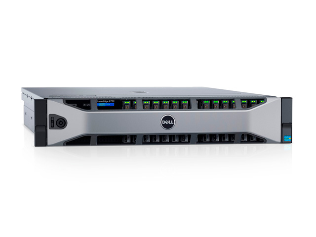 Dell PowerEdge R730 - мощный 2U сервер.