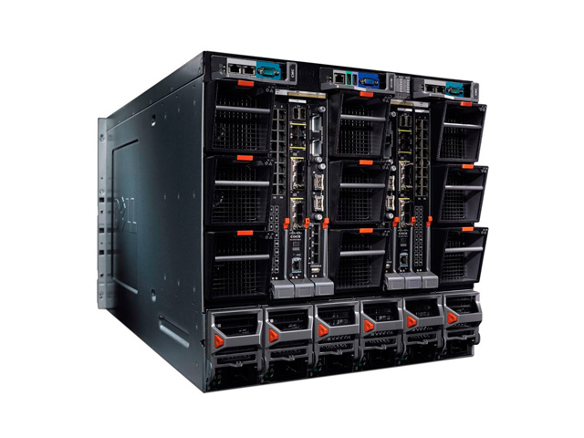 Dell PowerEdge M1000e - модульное блейд-шасси. дополнительное изображение 18764