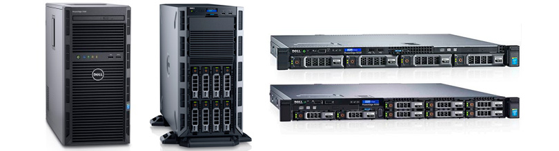 Dell PowerEdge R330 и R230, PowerEdge T330 и T130